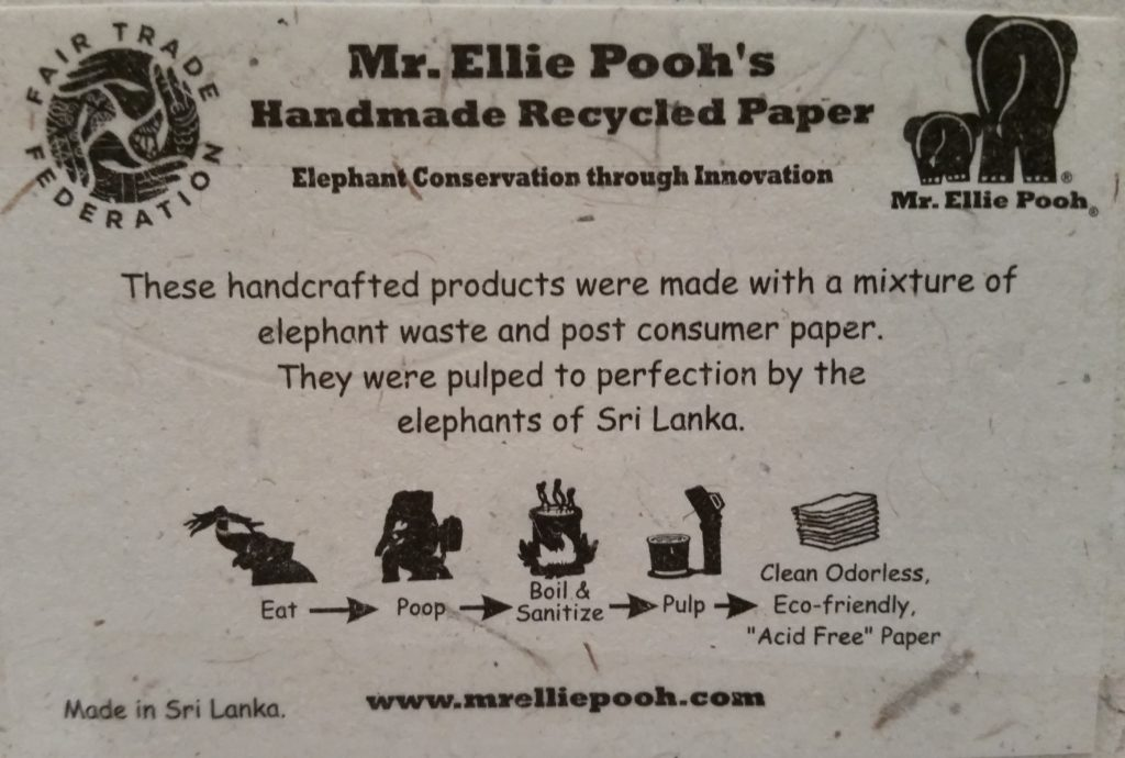 Business card for Mrs. Ellie Pooh's