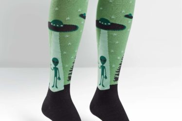 Spaceship socks