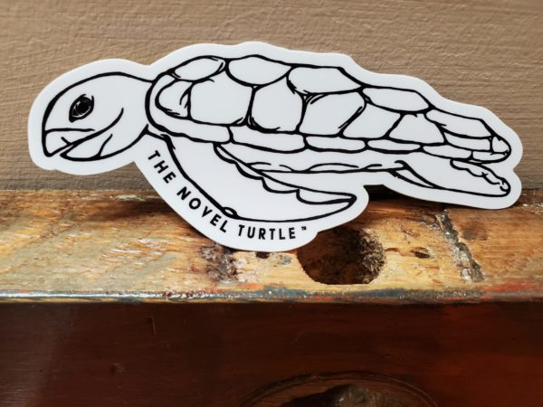 Simply TNT Sticker Large 2x5 Turtle